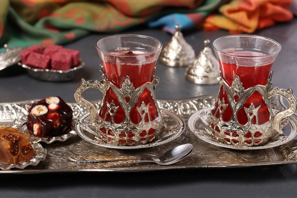 Getränke der türkischen Küche
